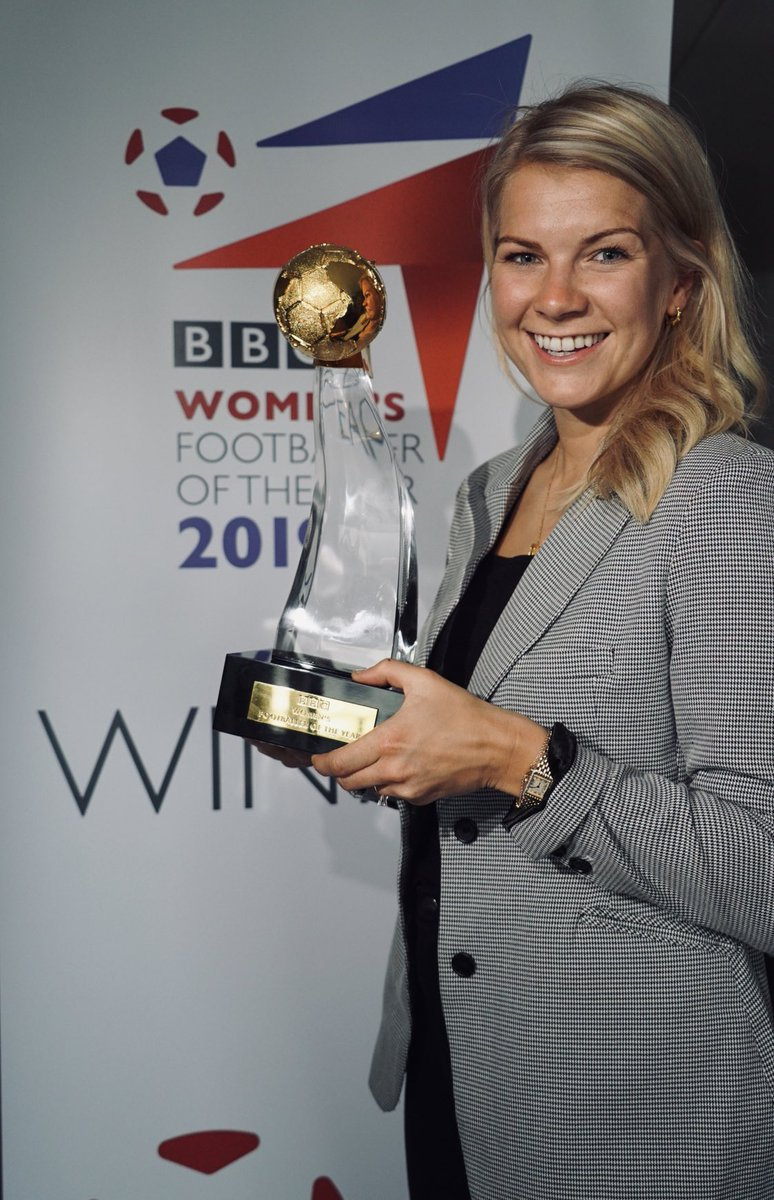 (So this happened.) Looks like my BBC Women's Player of the Year 2017 got a new friend. Massive thanks to the voters, my team which pushes me to be the best I can be, to @OL and to the @BBCSport for helping the game to grow. #ChangeTheGame