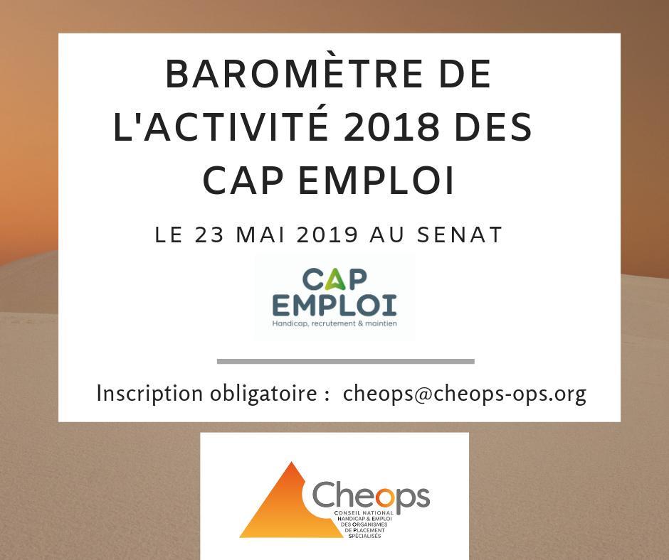Baromètre de l'activité 2018 des Cap Emploi
