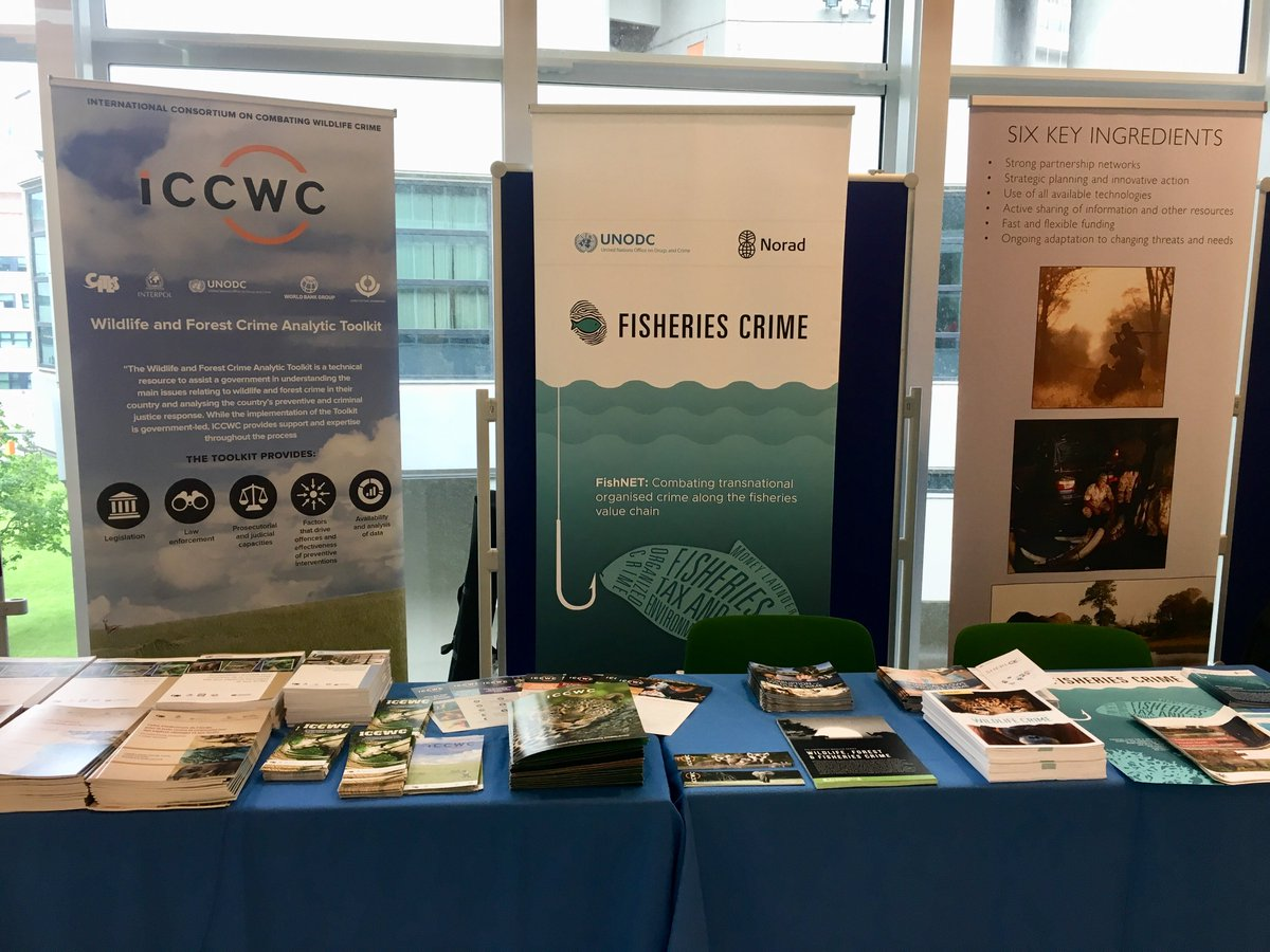 Stop by our stand at #CCPCJ28 this week for a chance to meet the team, find publications in several languages and discuss @UNODC efforts to #EndWildlifeCrime <br>http://pic.twitter.com/VDxgLQrMC8