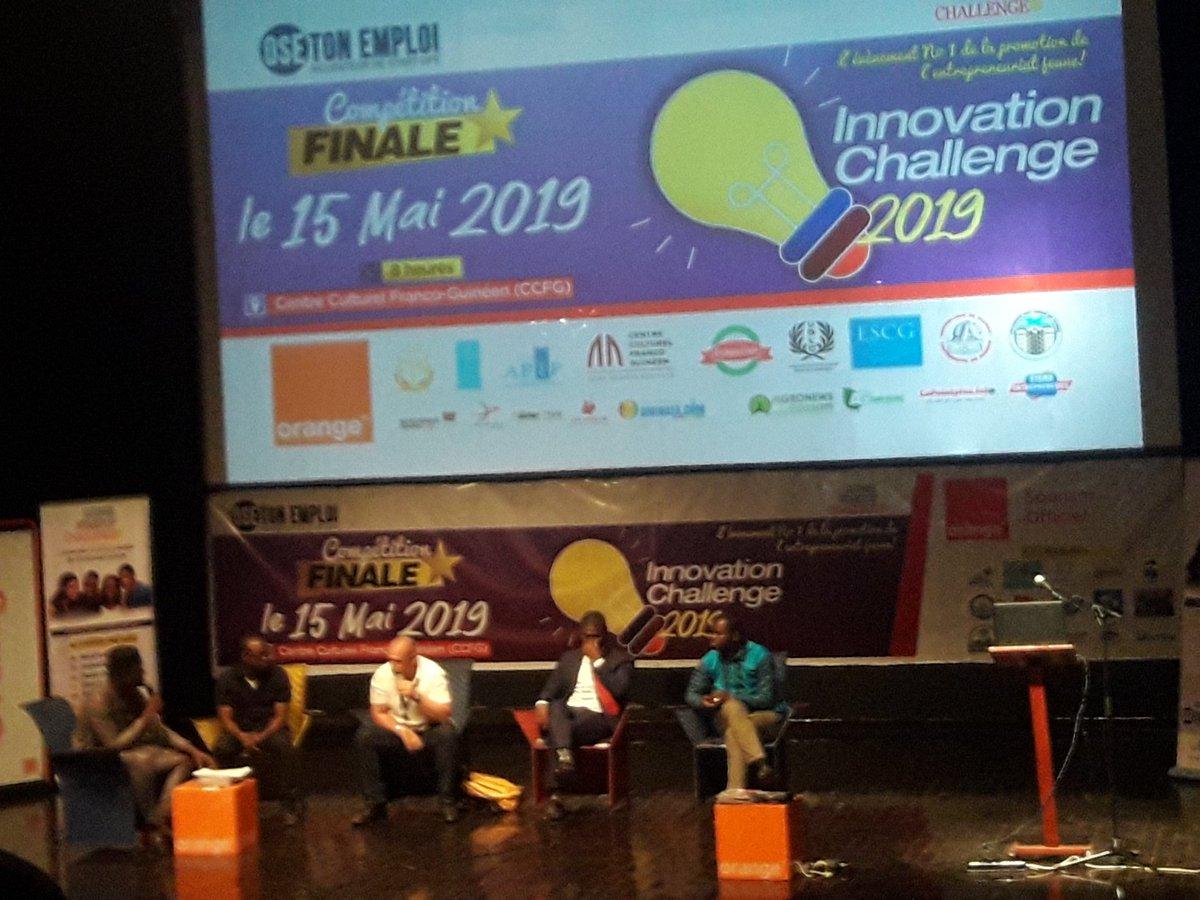 Nous recevons aujourd'hui dans #TechInfo224 Monsieur Danda Diallo de l'incubateur @osetonemploi sur LYNX FM 91.00 à partir de 16 H. Avec lui nous allons parler de la première édition de 《Guinée startup Challenge》 #Kibaro #TechInfo224 cliquer ici 👇 https://t.co/BinOUsWxz2 https://t.co/wDlTgGxOKn