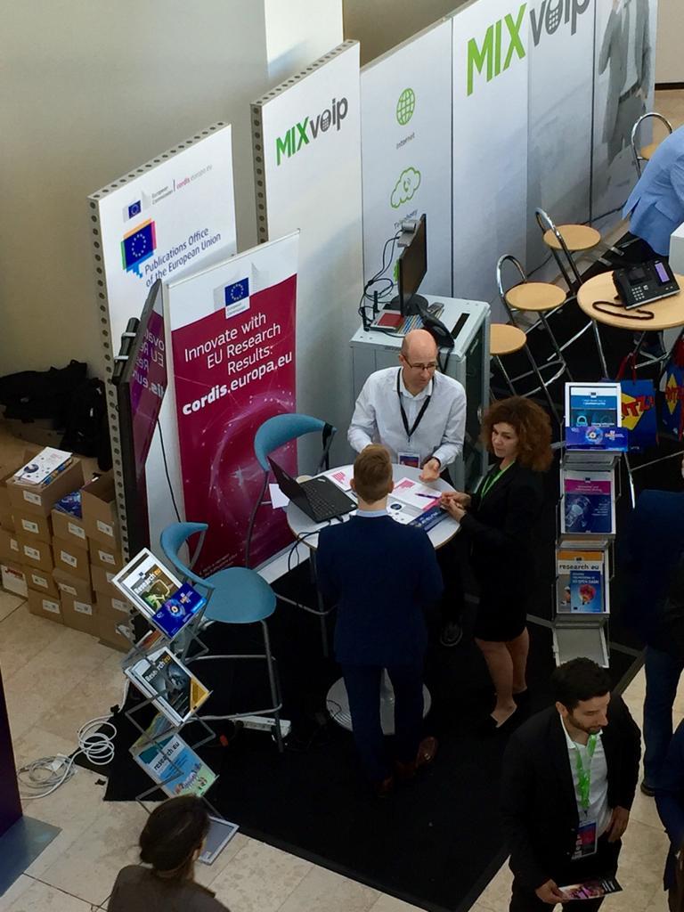 Come to meet us today, second day of #ictspring! #EUopendata #EUdatathon #EUdataviz #ictspring2019<br>http://pic.twitter.com/TtNBkf5coX