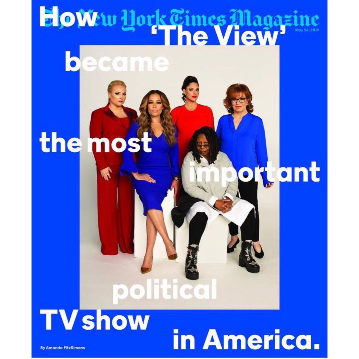 How 'The View' became the most important political TV show in America   Co-hosts of The View on the cover of the New York Times Magazine this week.   Cover story: https://nyti.ms/2VCoboZ