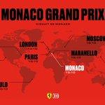 Time to set your alarms, #Tifosi ⏰ #MonacoGP times below 🔽 #essereFerrari 🔴
