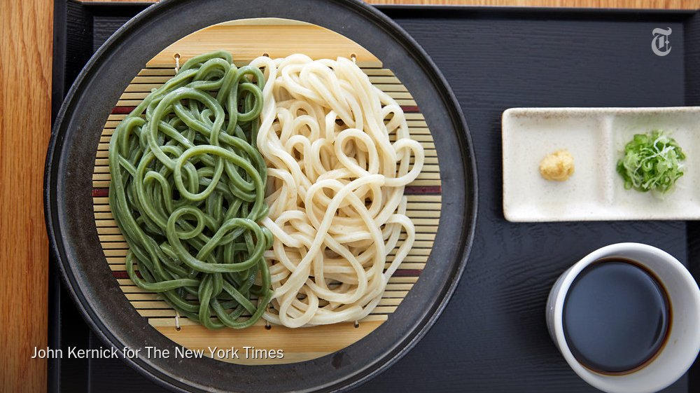 Giant pandas like it, but does kuma-zasa belong in noodles? To find out, @pete_wells slurps the udon at Hanon in Brooklyn. https://nyti.ms/2HG9496