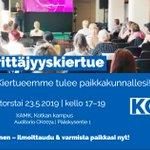 Image for the Tweet beginning: Moikka Kotka! Tulemme tapaamaan teitä