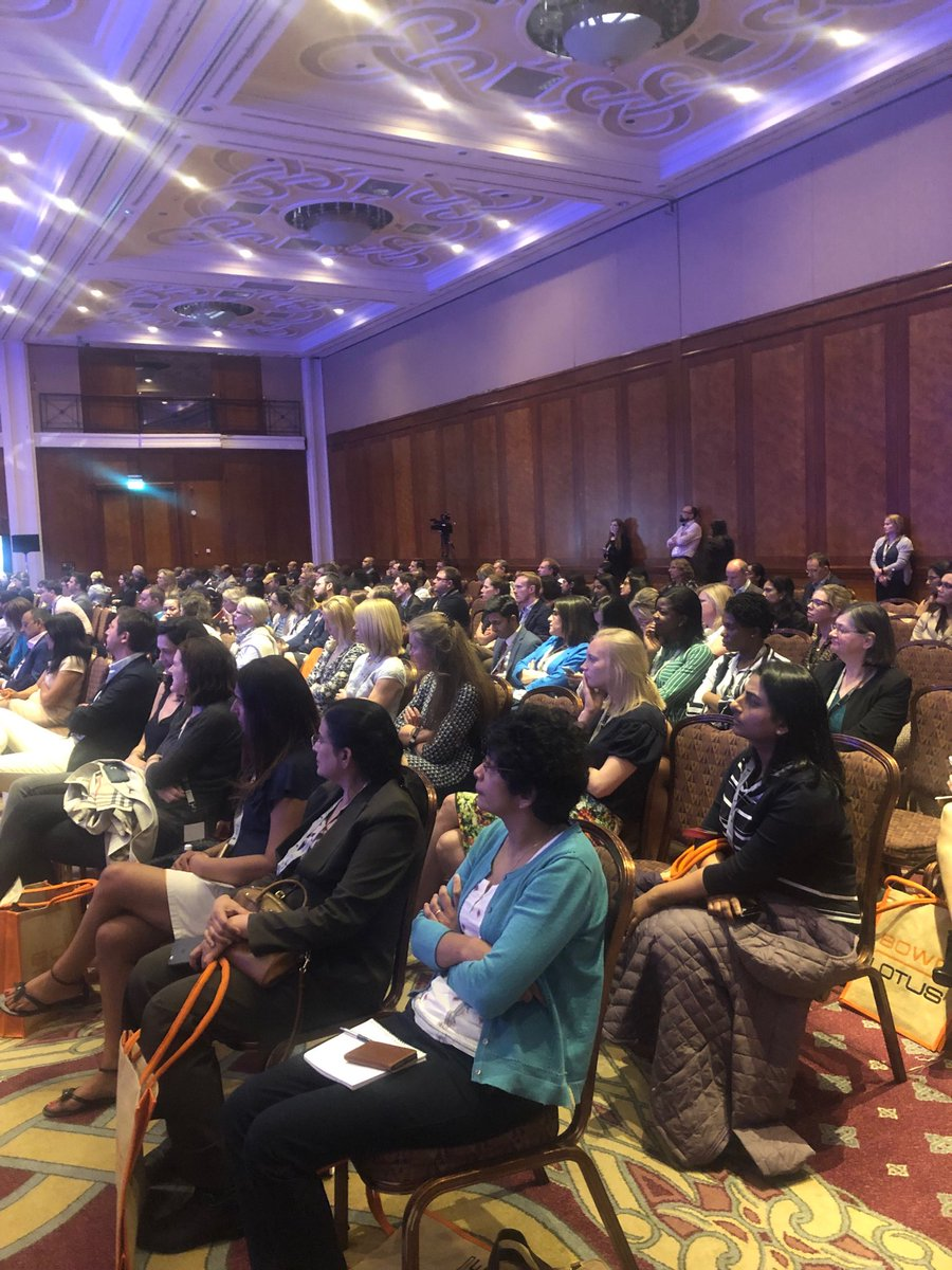 Packed rooms watching surgical management of complex ectopic pregnancies    #BSGE2019