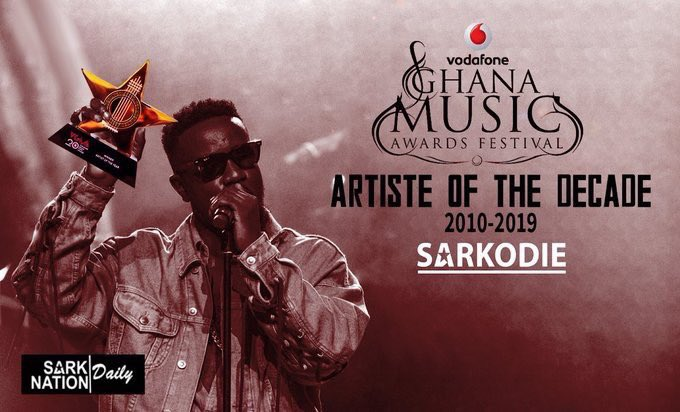 10 Years ain't no Joke !  Congratulations @sarkodie   You showed the world that Hardwork, consistency, originality, Branding and Wadelse... pays off! <br>http://pic.twitter.com/z9hKA9gzoA