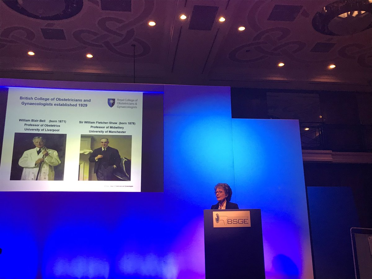#Prof Lesley Regan #BSGE2019  Great leadership #rcog