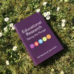 Image for the Tweet beginning: 'Educational Research' blends together discussion