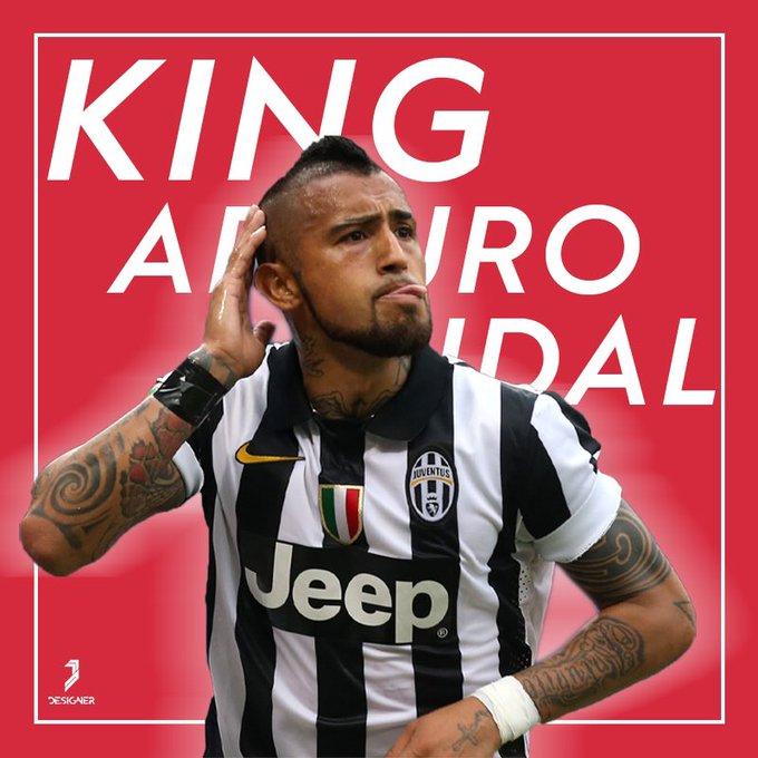 Happy birthday King Arturo Vidal