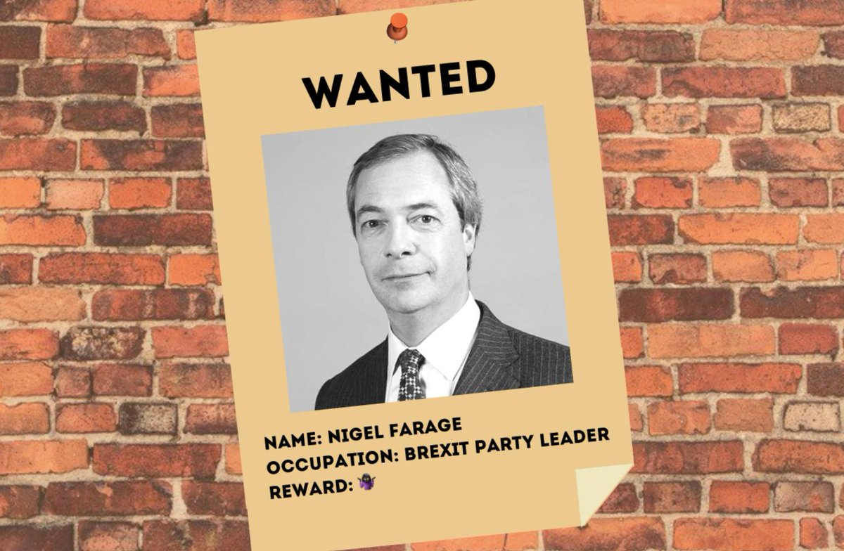 A complete history Nigel Farage's political sins http://bit.ly/2WYLgnt