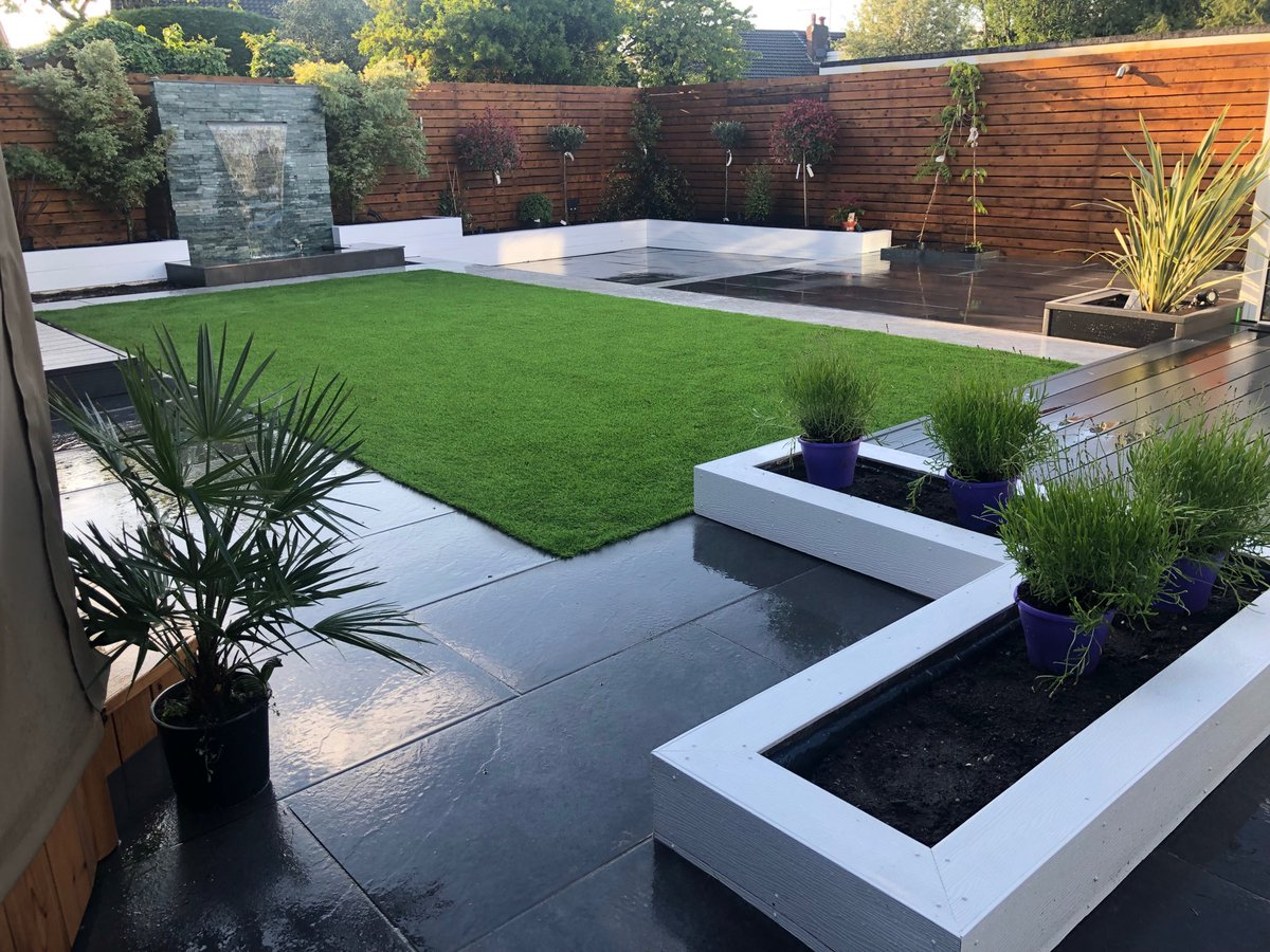 """Abel Landscaping On Twitter: """"One Of Our Recent Low Maintenance Garden Makeover. If You Like Our Photos, Follow Us On Instagram Https://t.co/jgi6mAzrqo If You Are Planning To Redesign Your Garden Contact Us:"""