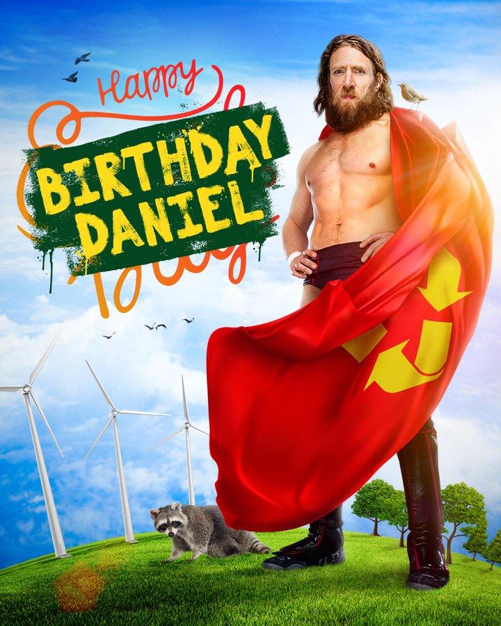 Happy birthday 🎂 to @WWEDanielBryan !!! The planetary #SDLive tag champion !!!  @ERICKROWAN @BellaTwins @wwe @WWEIndia