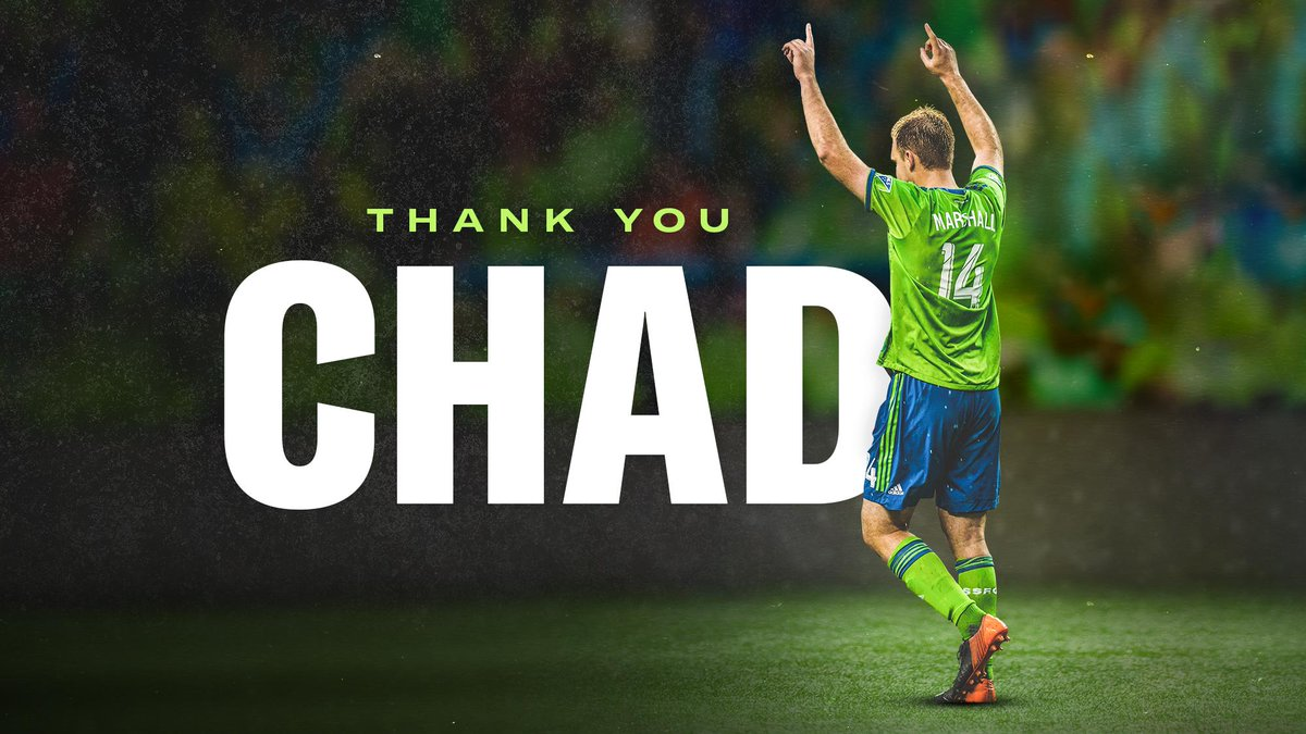 Seattle Sounders FC's photo on #ThankYouChad