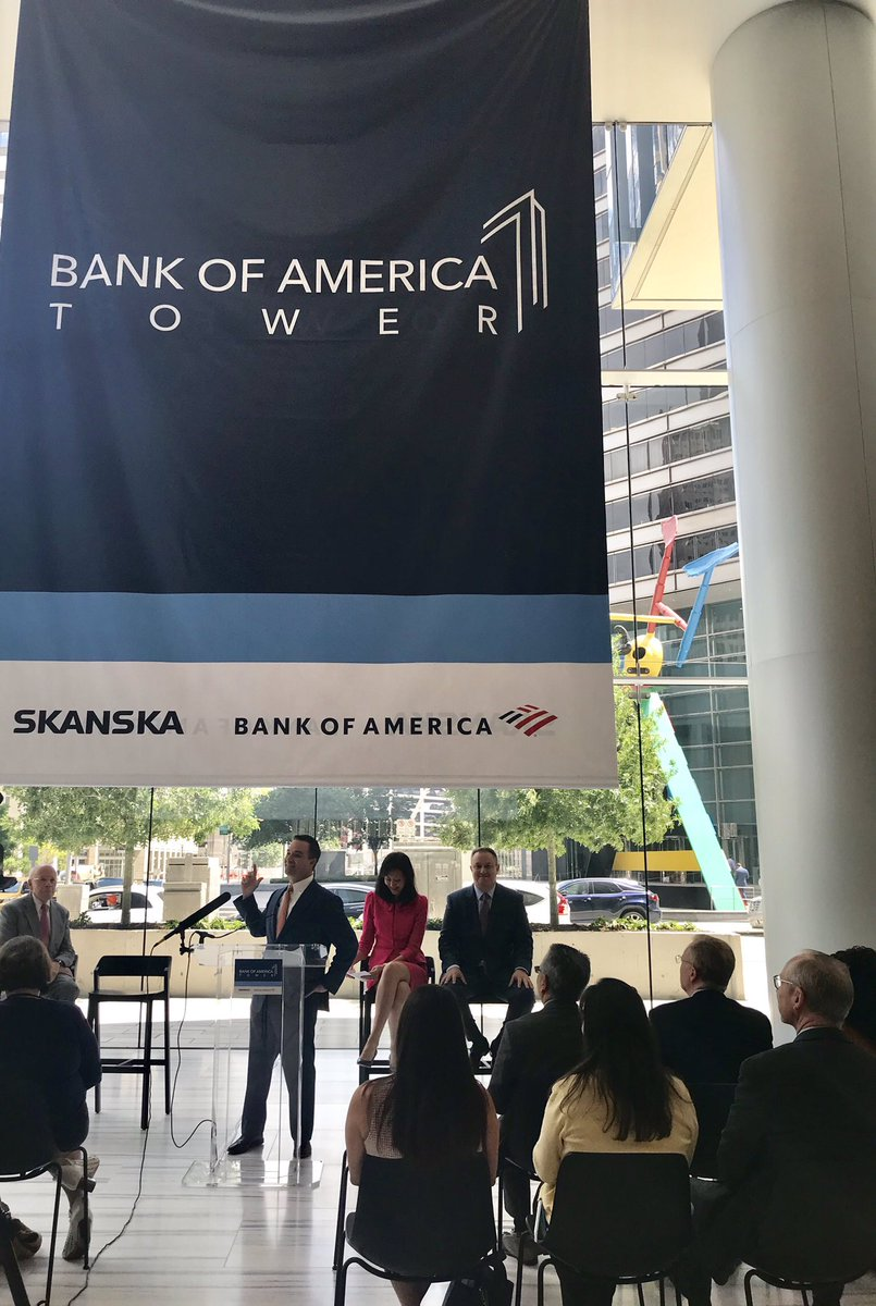 It's official! We are excited to announce that our #CapitolTowerHouston project has been renamed Bank of America Tower after our anchor tenant, @BankofAmerica. #BofATowerHTX #CRE