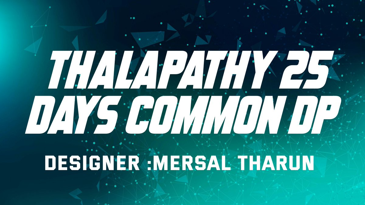 #ThalapathyBirthday Celebration 25 Days Common DP Designer @Mersaltharun22  CP Designer @goshram63  Release Date Announcement Tomorrow Evg! #ThalapathyBirthday25Celebration  #KWEmperorVijayBDayIn30D<br>http://pic.twitter.com/QHUwSIE5l9