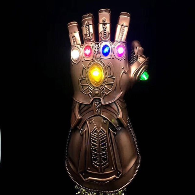 I HAVE MY INFINITY GAUNTLET .... WATCH OUT, YALL. I SNAPPED