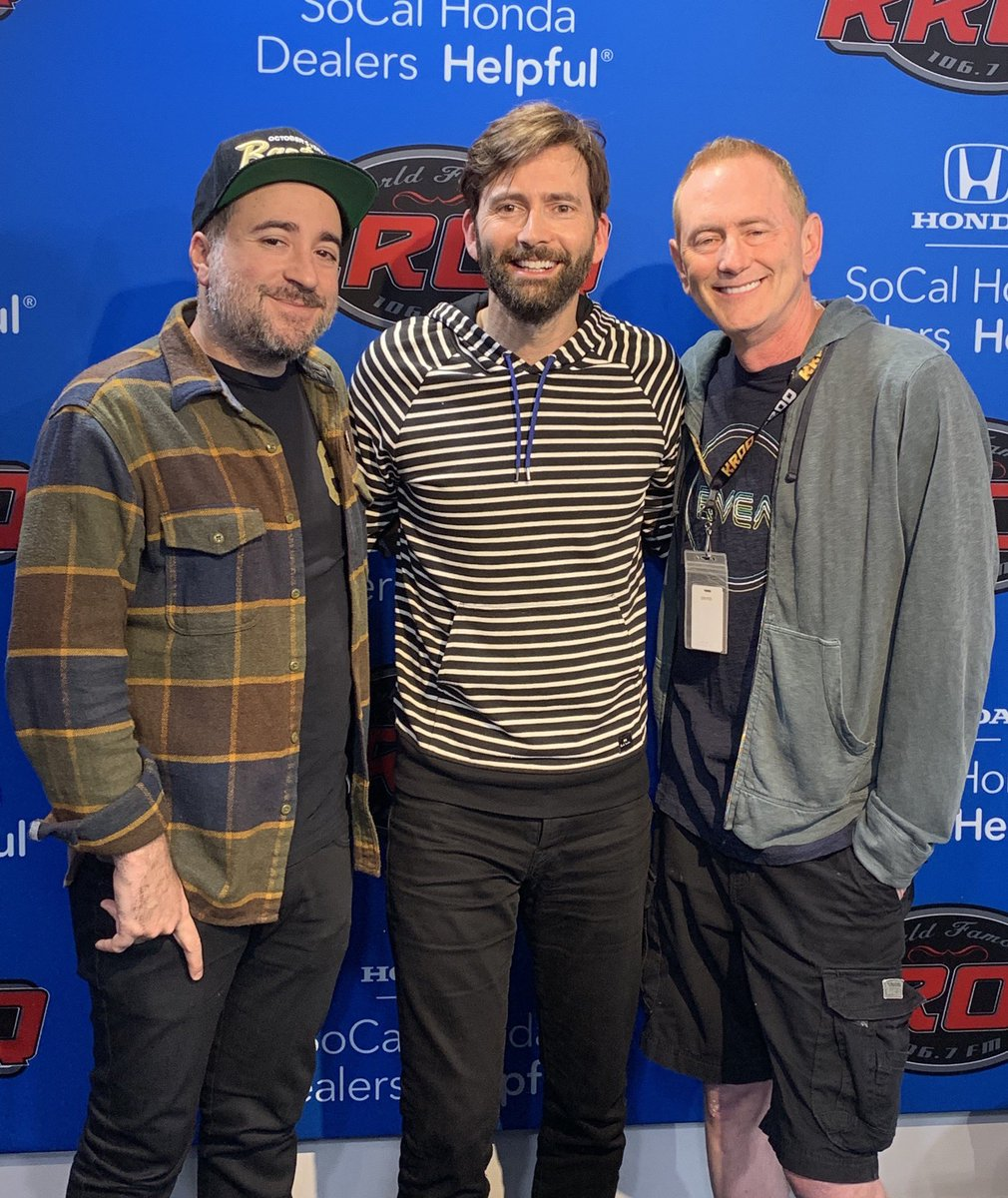 David Tennant at the Kevin And Bean show - Wednesday 22nd May 2019