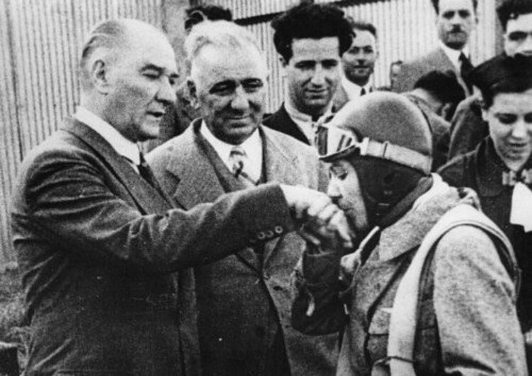 Türk'ün Tunç Elinin göklerden indiği zaman. Atatürk'ün kurduğu, Sabiha'nin vurduğu Türk Yurdu Tunceli. #DersimDeğilTunceli