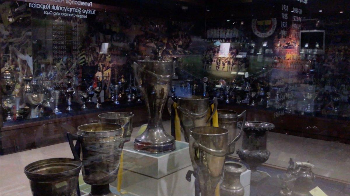 Image for the Tweet beginning: Fenerbahçe Efsanesi Stadyum ve Müze