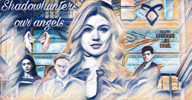 Our beautiful angels🥰 @Kat_McNamara #FrayFriday #FanArtFriday #shadowhunters #Shadowhunterschat