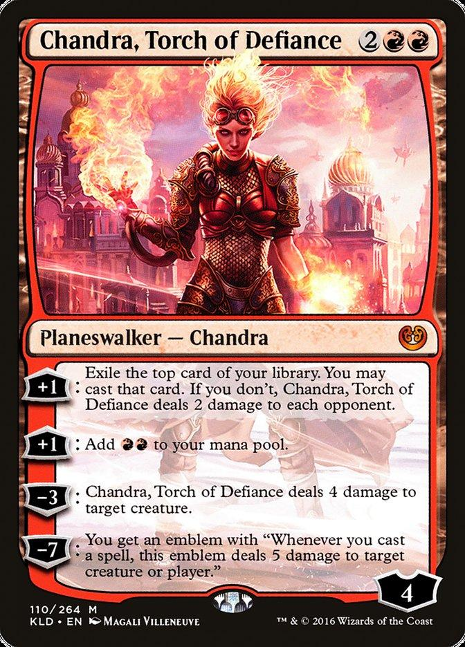 Someone in my Discord pointed this one out. Chandra + Planebound Accomplice + Curio and any other walker is infinite walker activations. <br>http://pic.twitter.com/oRY1uNTzuK