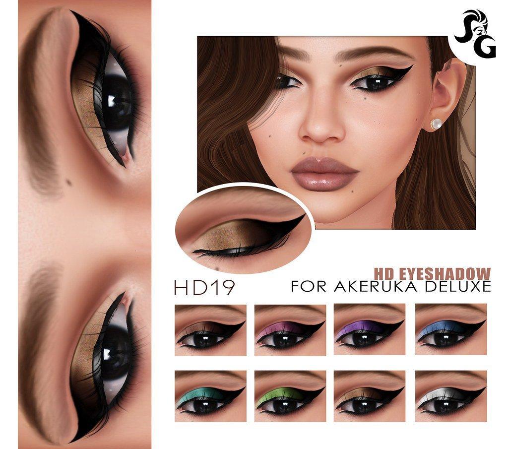 SLACKGIRL - New HD Eyeshadow 19 for Akeruka at Mainstore #secondlife #sl #mainstoresl https://t.co/UykxwSKxmF https://t.co/1T1BBcmIf9