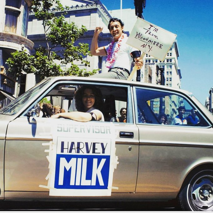 Happy birthday to Harvey Milk. He would have turned 89 today.