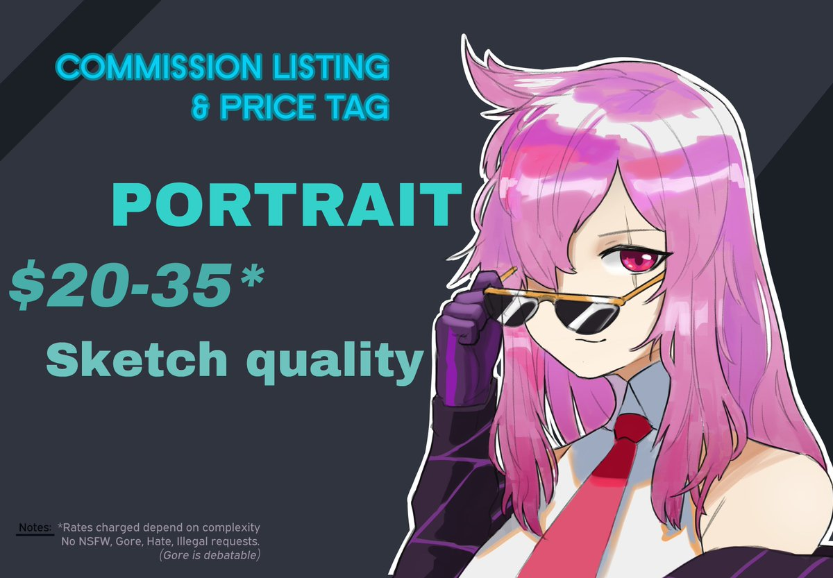 Hi hello I am now opening commission once again, along with the raffle that is currently ongoing. Do help spread and share pls thank you : ) DM or contact me via discord: Sedai#2855 for more information thank you   #artcommissions<br>http://pic.twitter.com/Y4b3hBkPdD