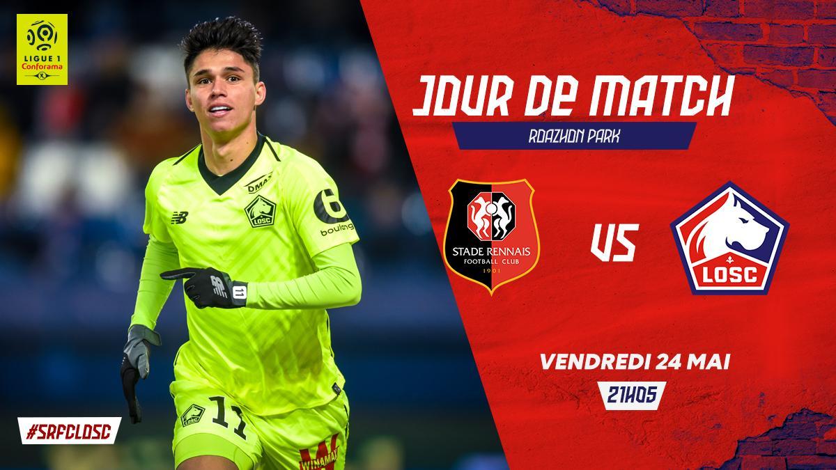 MatchDay    #SRFCLOSC  Vendredi 24 mai 2019  @staderennais  21h05  J38 @Ligue1Conforama  @RoazhonPark  @beinsports_FR 3<br>http://pic.twitter.com/qgpamC2Jfu