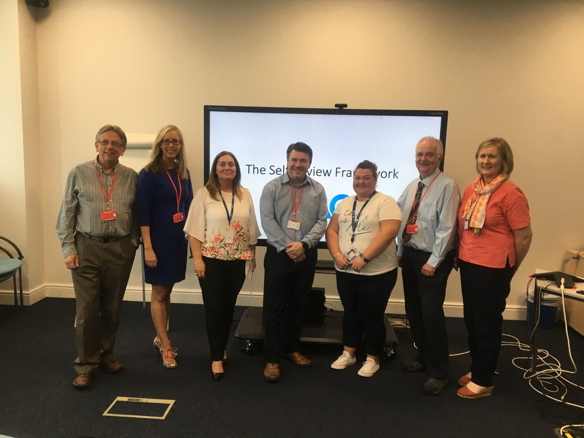 We're delighted to welcome #nischools to our @CapitaITN_edu office for a @Naace Self-Review framework information day along with @stevmoss & @medv2 @C2k_info. It's going to be a great afternoon sharing benefits of the #ICT framework.