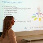 Image for the Tweet beginning: Yritysvalmentaja Naomi Rask Ensimetristä kertoi