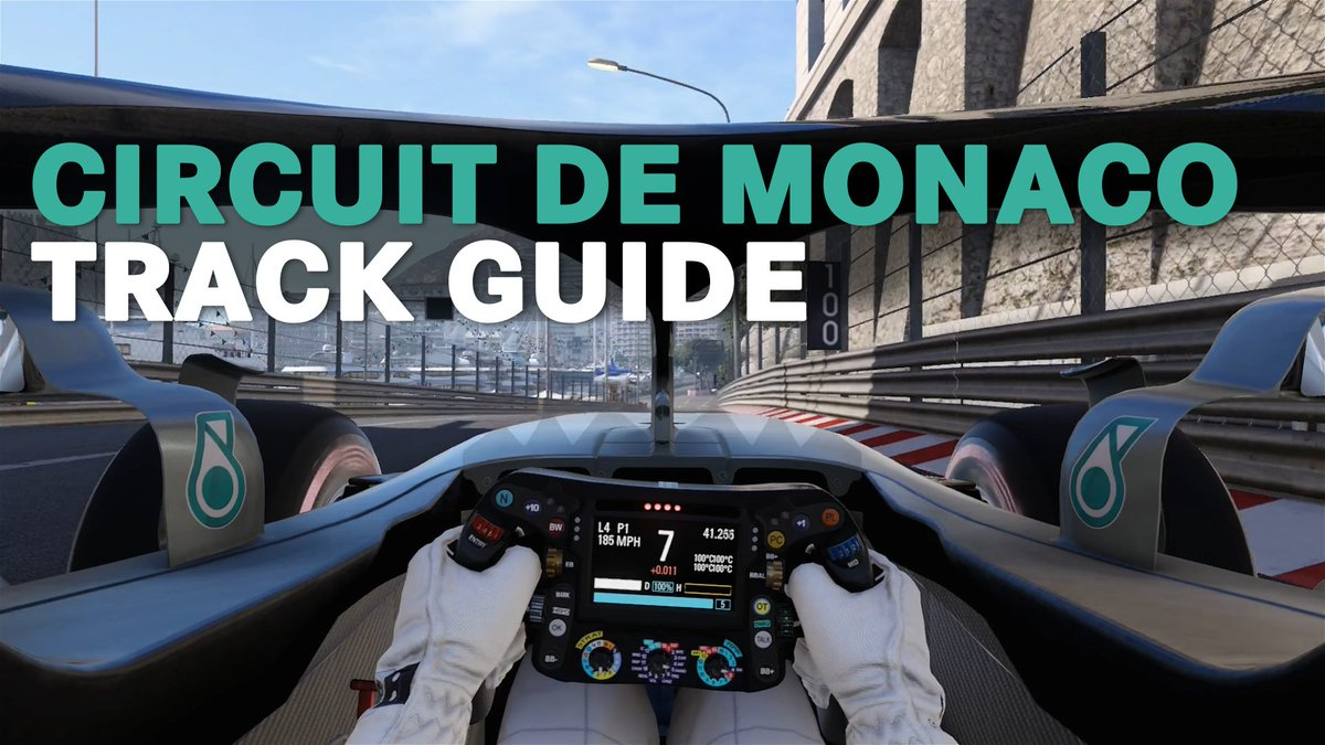 Tight. Twisty. Iconic. Tackling the most famous @F1 track of them all...   It's the Circuit de Monaco! 💪 #MonacoGP