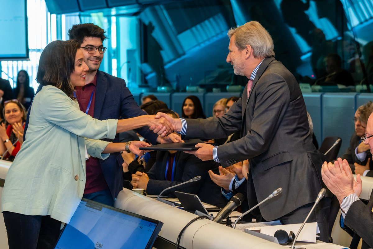 The #EUMED4business participants developed recommendations to policy makers & then voted on their 12 Top priorities for actions regarding #investment, #entrepreneurship & #job creation. Read them here👉 http://bit.ly/2VWsFfi The recommendations were handed over to @JHahnEU.
