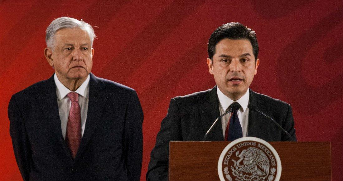 Zoé Robledo será director del IMSS en sustitución de Germán Martínez, anuncia el Presidentehttp://bit.ly/2HJiIb8