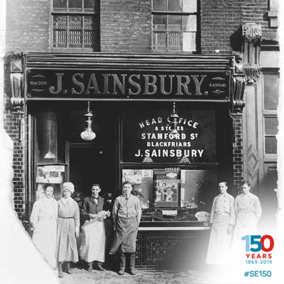 #DailySwimmingFact: In 1869, the same year @Swim_England was established, @sainsburys also opened its first store in #London. The company were the first Paralympic-only sponsor after their London 2012 involvement at which GB won 39 medals for #swimming #SE150 #Sainsburys150