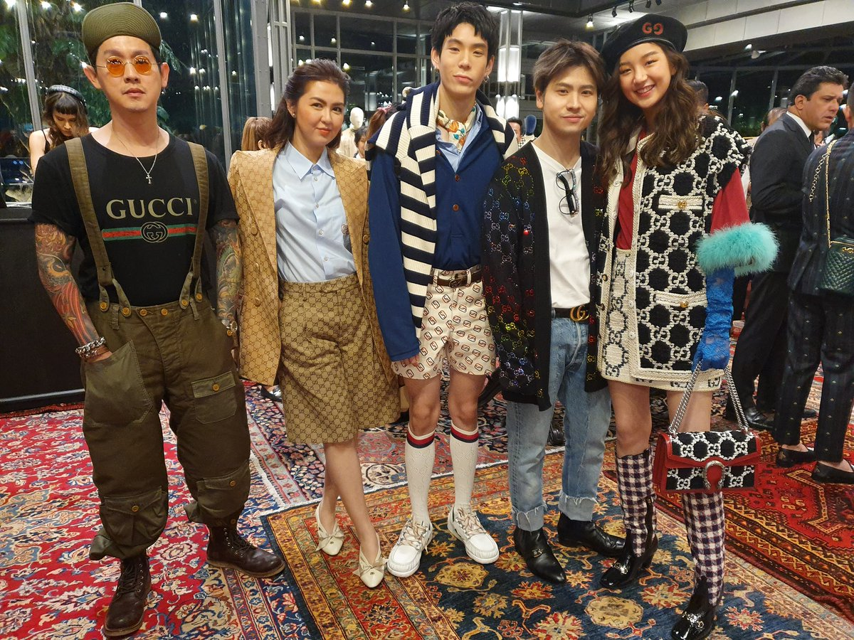 What a good gathering tonight #guccifw19