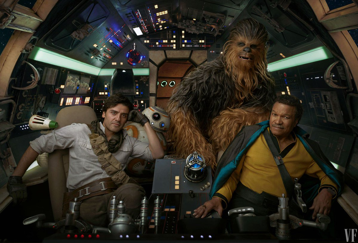 [Lucasfilm] Star Wars : L'Ascension de Skywalker (20 décembre 2019) - Page 11 D7LE62jW0AA08nX