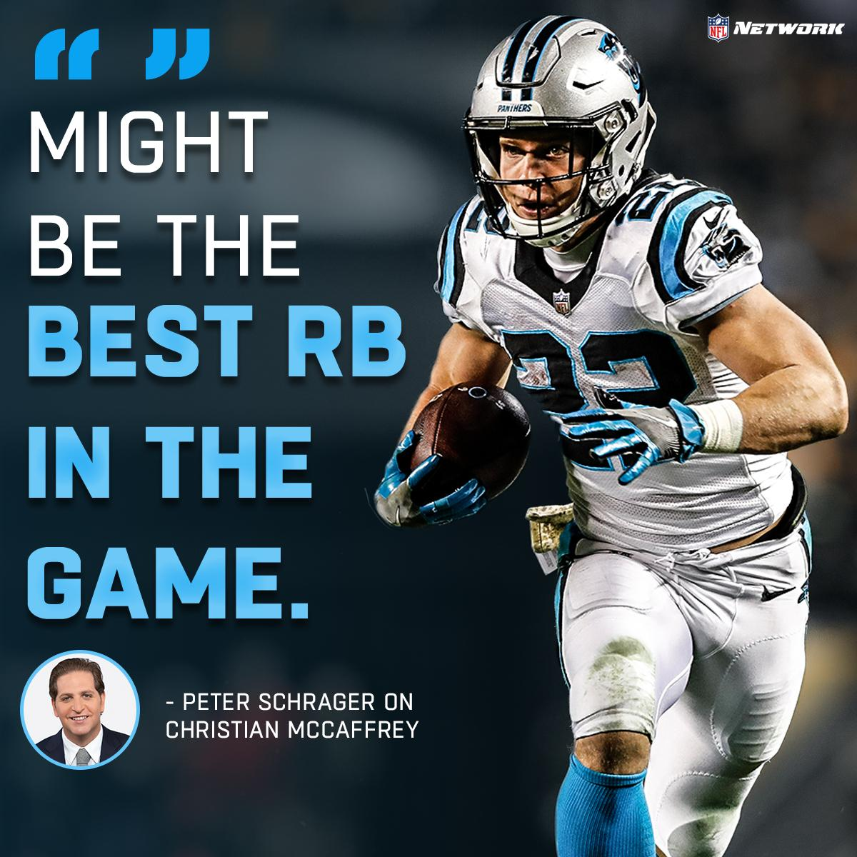 Where does @run__cmc rank among NFL running backs? 🤔 📺: @PSchrags // @gmfb