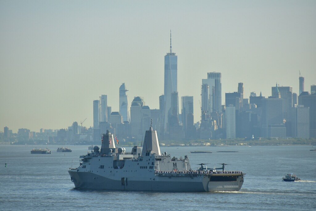 NYPD NEWS's photo on #FleetWeekNYC