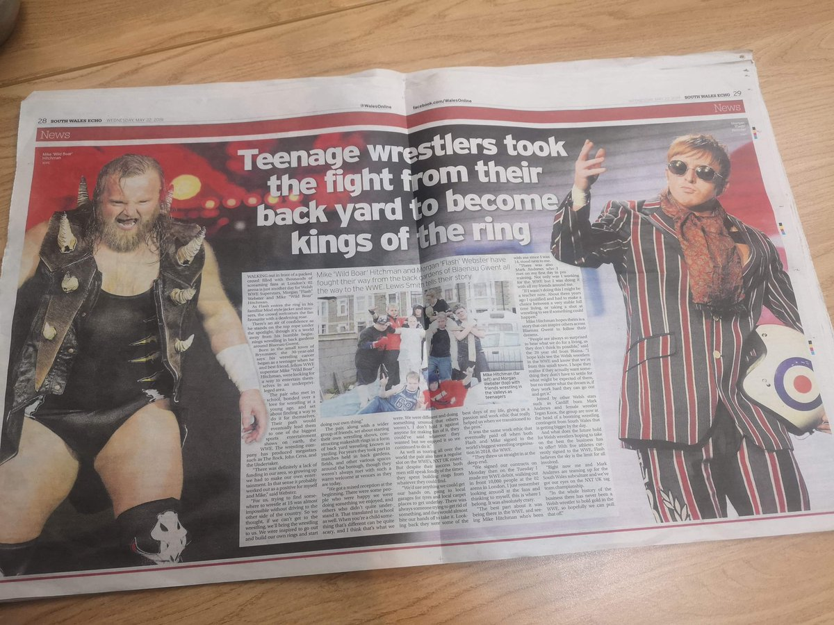 Go grab a copy of South Wales Echo#NXTUK