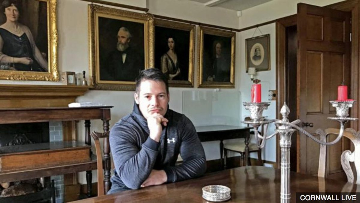 A 31-year-old former care worker has inherited a manor house after a DNA test proved he was the heir to a country estate. 👉 http://bbc.in/2M2mYIa