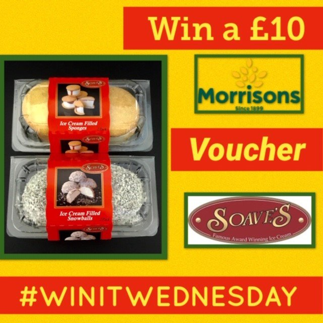 Win a £10 MORRISONS VOUCHER! Follow us, RT &amp; reply with your favourite ice cream flavour or dessert, tagging a friend. Closes 01.06.19 at 8am #CompetitionTime #GiveawayAlert #Freebies #WinItWednesday #GoodLuck<br>http://pic.twitter.com/eKb72d7zhU