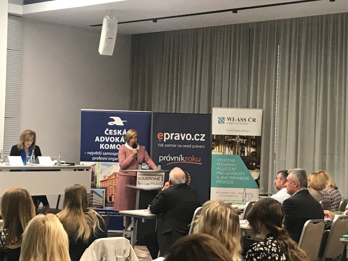 test Twitter Media - RT @epravo: Aktuálně probíhá konference Soukromé právo Brno 2019. Děkujeme všem za účast. https://t.co/HO4lmXf287