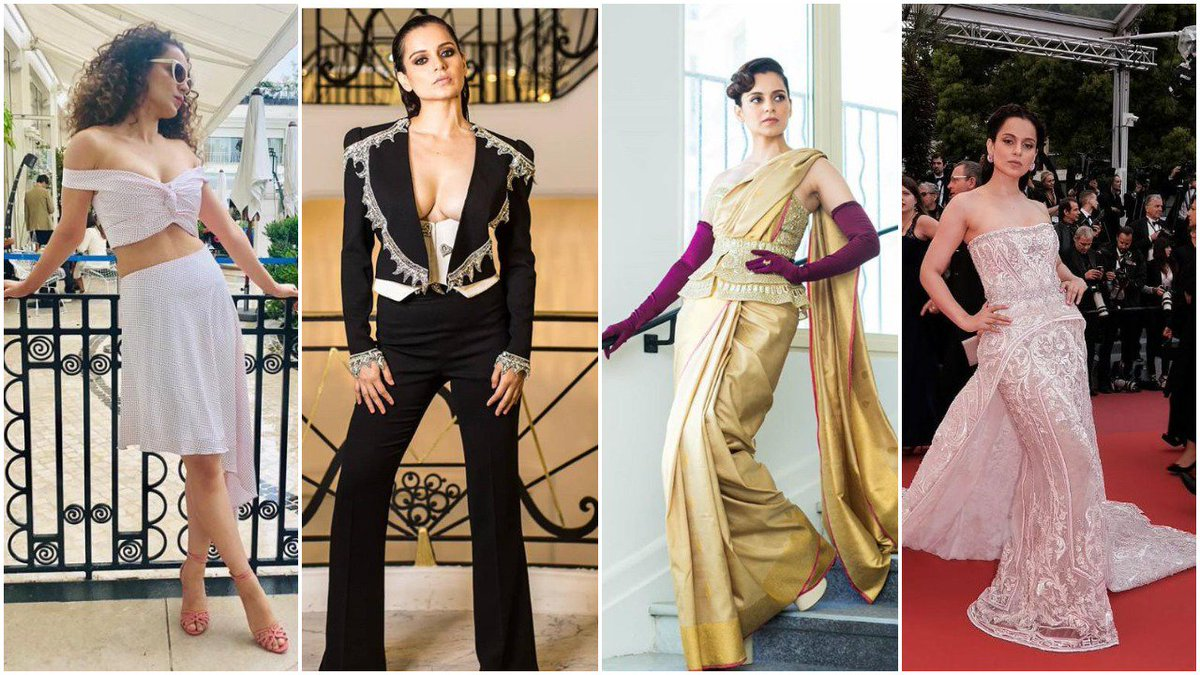 #CannesFilmFestival2019 Kangana Ranaut's Best Look ! Which is yours Favourite?? Comment Below!! @KanganaTeam @KanganaRanautFC #KanganaRanaut #KanganaAtCannes #Cannes2019 #Cannes #bestlook @ChauthiDuniya
