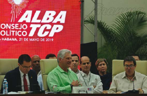A #ALBA-TCP renova seu compromisso com a cooperação, integração e defesa da unidade frente àinterferência https://blogcubahoy.wordpress.com/2019/05/22/a-alba-tcp-renova-seu-compromisso-com-a-cooperacao-integracao-e-defesa-da-unidade-frente-a-interferencia/…