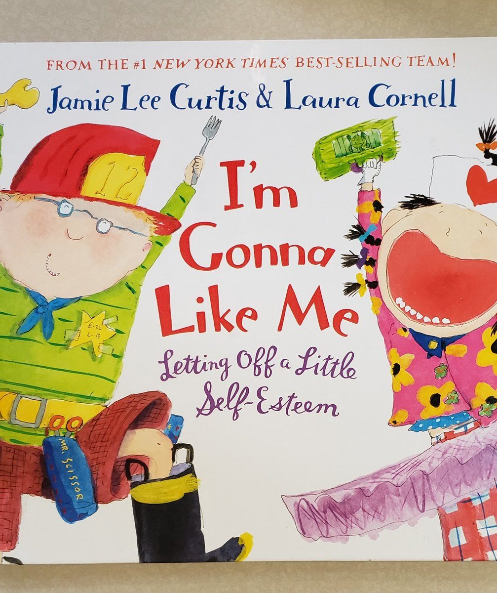 The Virtue for May is - Caring.  We read I&#39;M GONNA LIKE ME by Jamie Lee Curtis and Laura Cornell.  We talked about caring about ourselves! @jamieleecurtis <br>http://pic.twitter.com/QZiCEXQOuk
