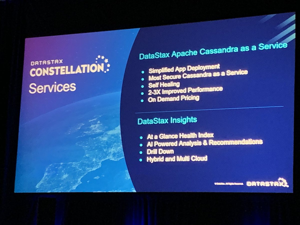 datastaxconstellation hashtag on Twitter