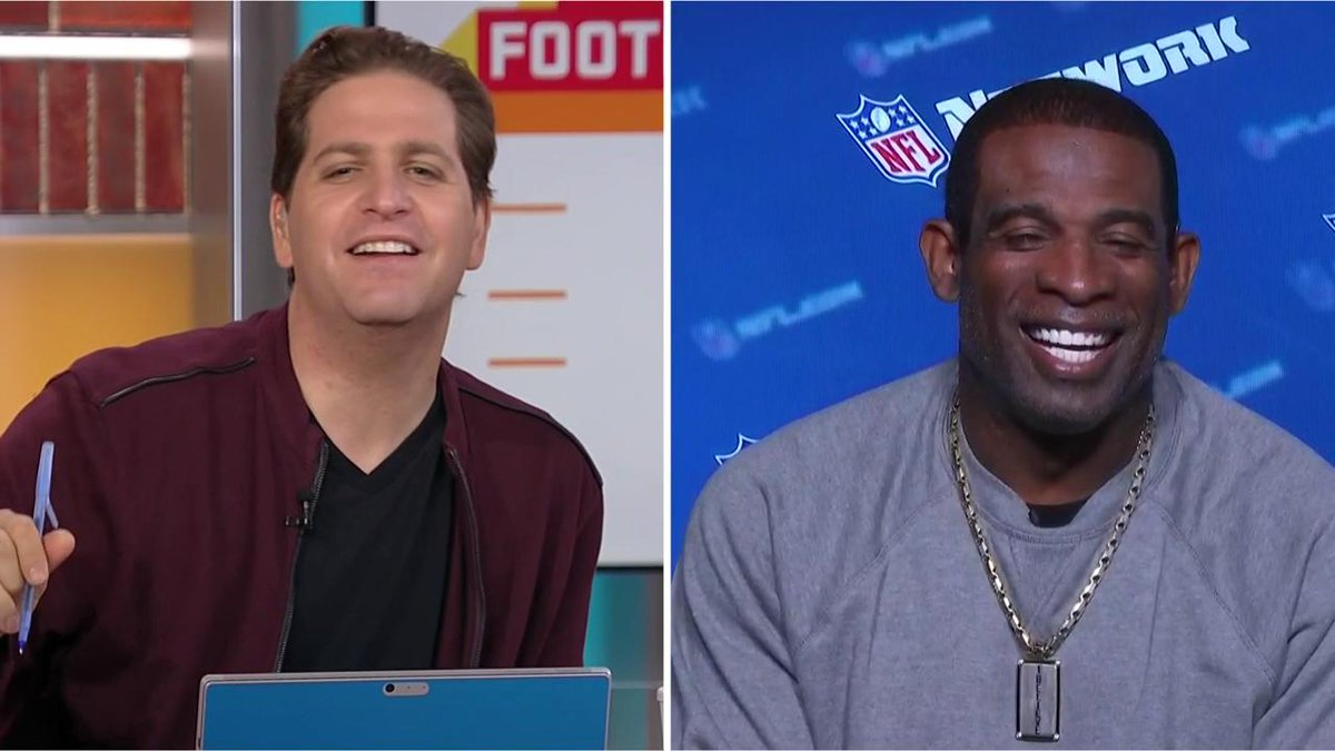 .@DeionSanders knows a thing or two about being a 2-sport athlete. Primetime joined #GMFB to talk about @AZCardinals QB @K1 choosing football over baseball. Hes going to win everywhere he goes.