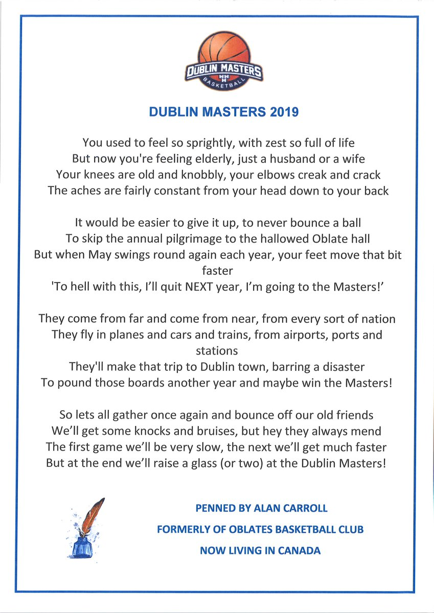 Dublin Masters Bball (@DublinMasters) | Twitter